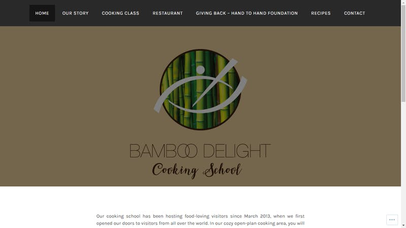 Bamboo Delight Cooking School and Restaurant