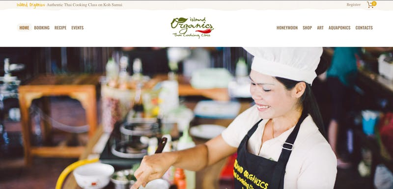 Island Organics Thai Cooking Class