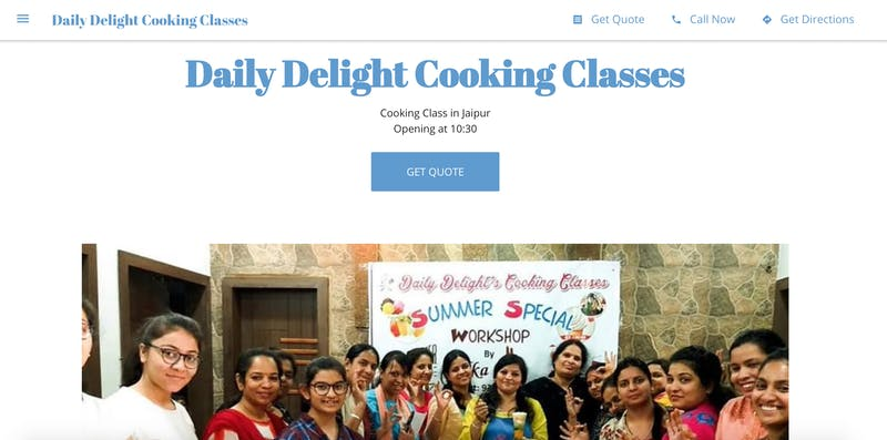 Daily Delight Cooking Classes