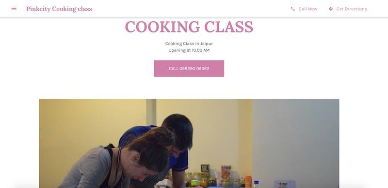 Pinkcity Cooking class