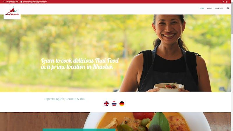 Ann Kholak Thai Cooking Class