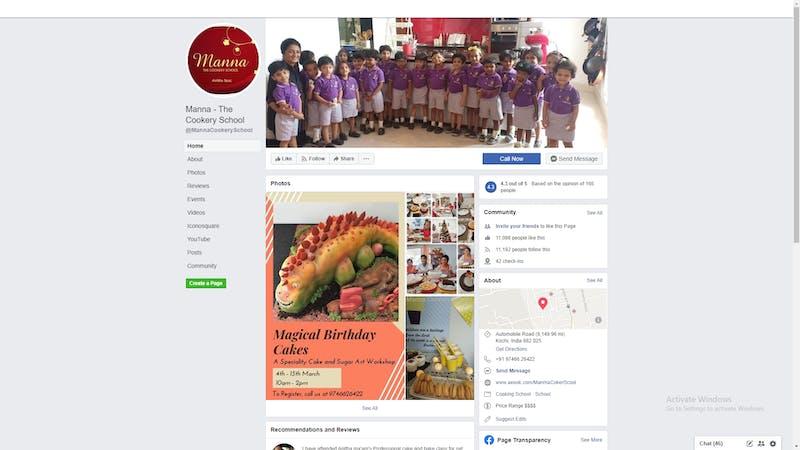 Manna Cookery School