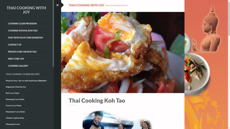 Thai Cooking with Joy