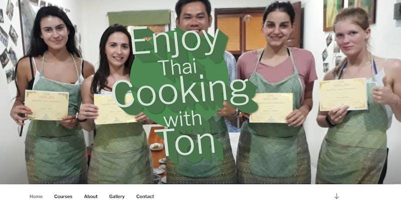 Enjoy Thai Cooking with Ton