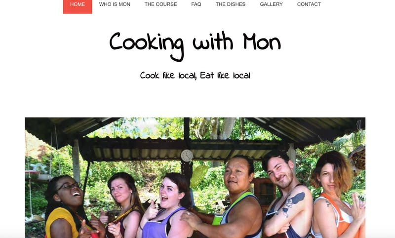 Cooking with Mon