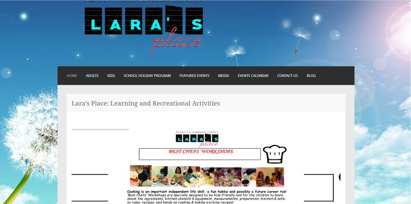 Lara's Place Learning and Recreational Activities