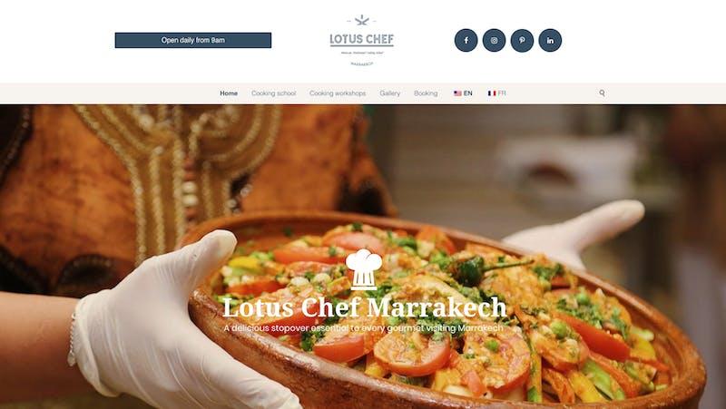 Lotus Chef Marrakech