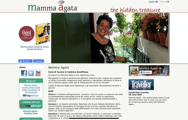 Mamma Agata Positano Cooking Class