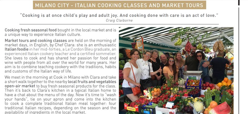 Cooking Class And Market Tour