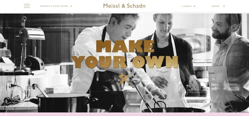 Meissl & Schadn Vienna Cooking Class
