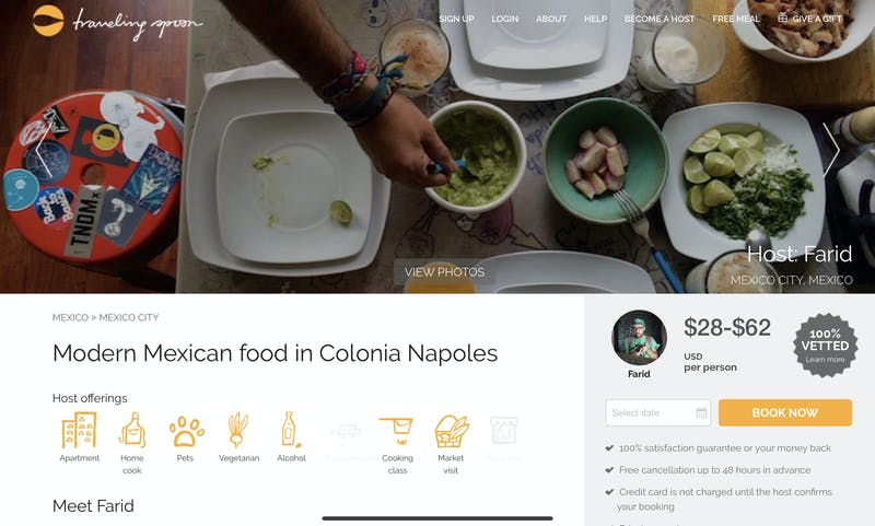 Modern Mexican food in Colonia Napoles