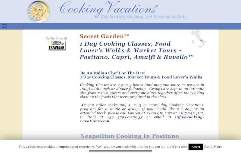 Neopolitan Cooking in Positano