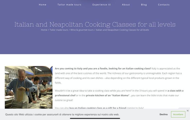 Napoli Amalfi Tour Guide: Neapolitan & Italian Cooking Classes