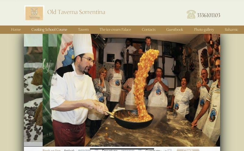 Old Taverna Sorrentina Cooking School