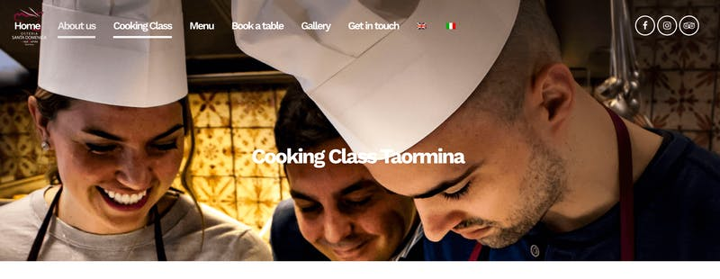 Osteria Santa Domenica Cooking Class Taormina