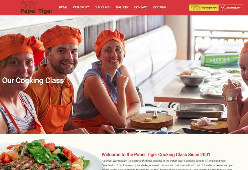 Paper Tiger Cooking Class
