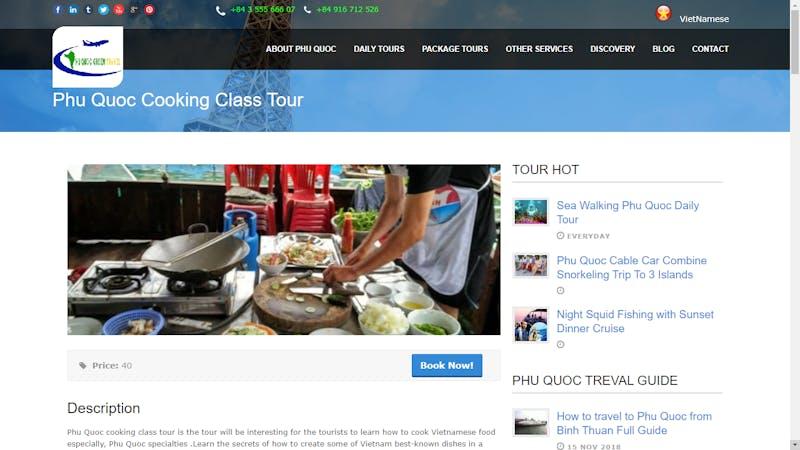 Phu Quoc Cooking Class Tour