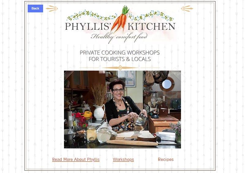 Phyllis Kitchen - Home Comfort Food