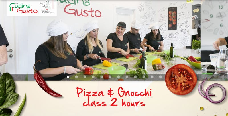 Pizza and Gnocchi