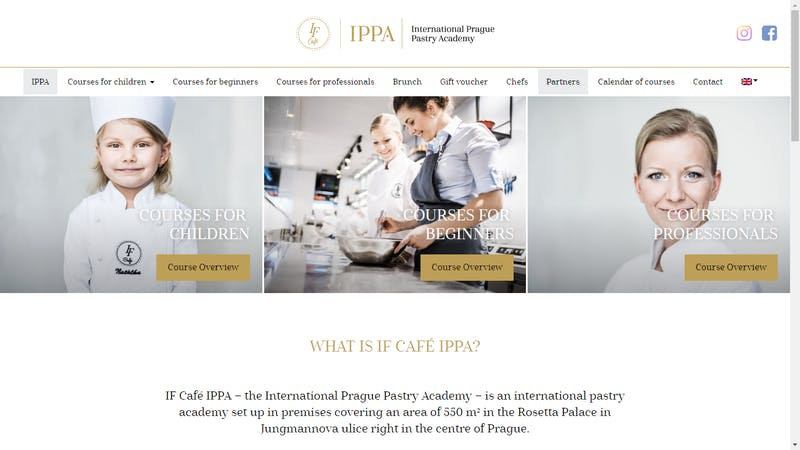 IPPA - International Prague Pastry Academy