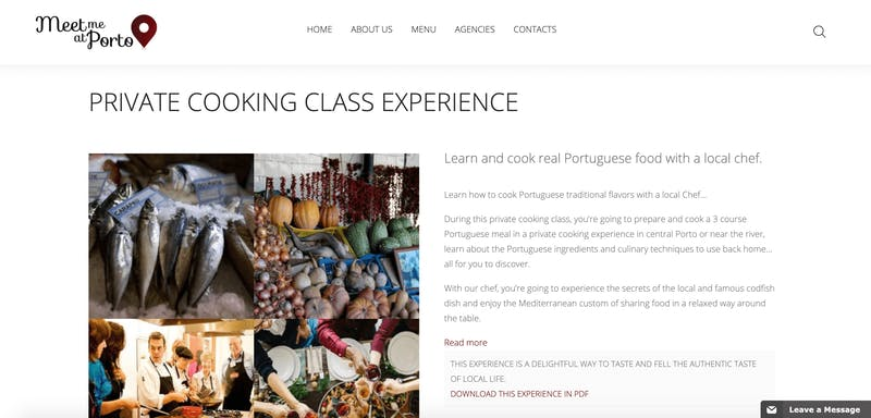 Private Porto Cooking Class Experience
