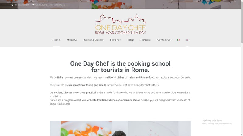 One Day Chef
