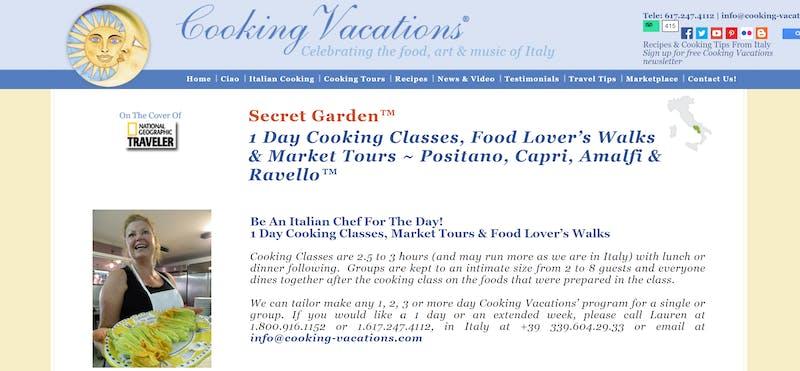 Secret Garden Cooking Class