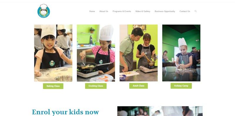 Smart Junior Chef Child Cooking Classes