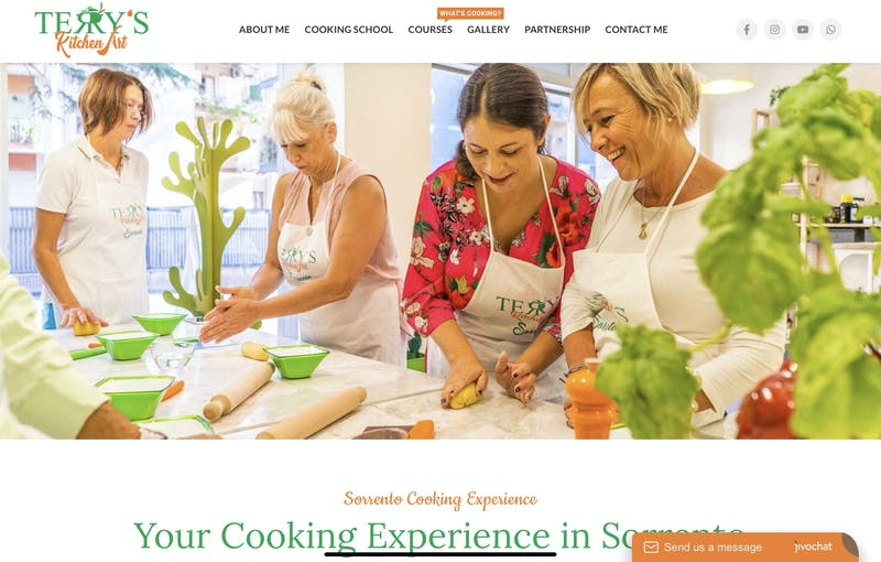 Sorrento Cooking Experience