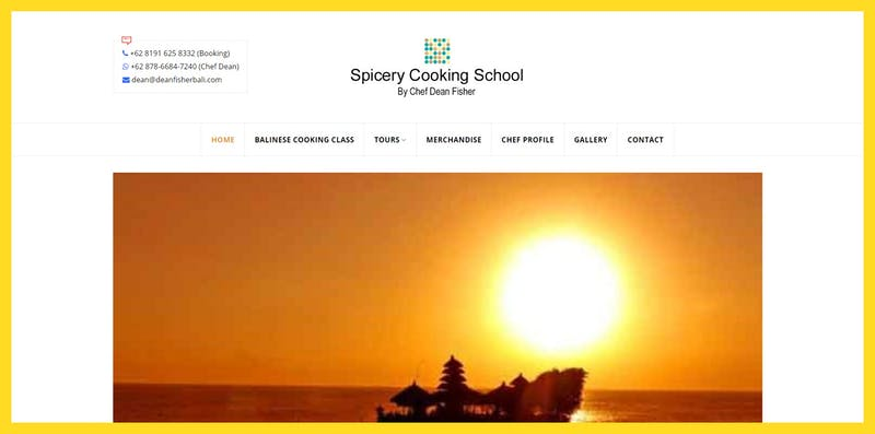 Spicery Cooking School by Chef Dean Fisher