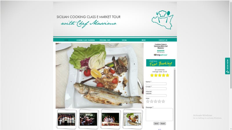Chef Massimo Cooking Class
