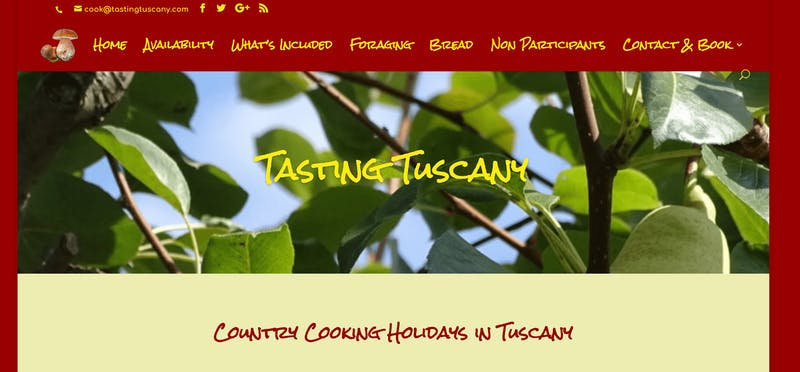 Tasting Tuscany Country Cooking