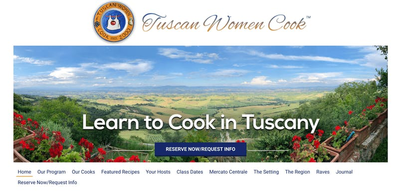 Tuscan Women Cook Cooking Class