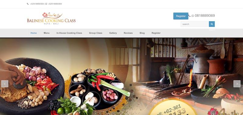 Anika Bali Cooking Class