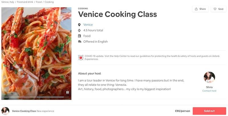 Venice Cooking Class