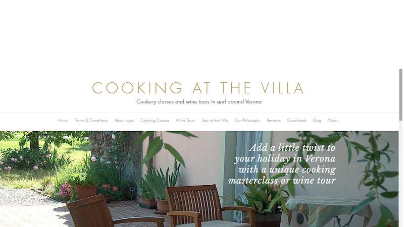 Cooking at the Villa