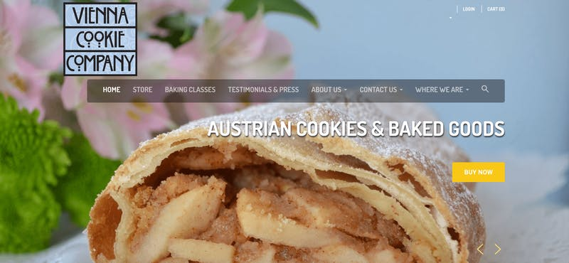 Vienna Cookie Company Baking Classes