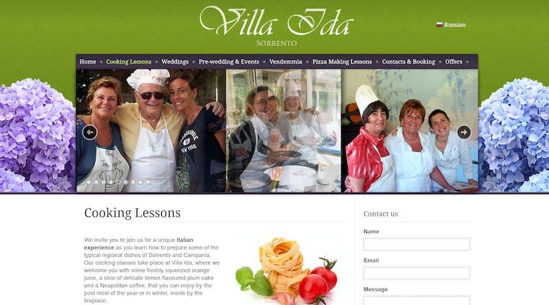 Villa Ida Cooking Classes