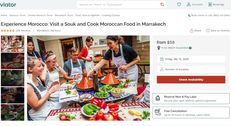 Experience Morocco: Visit a Souk and Cook Moroccan Food in Marrakech