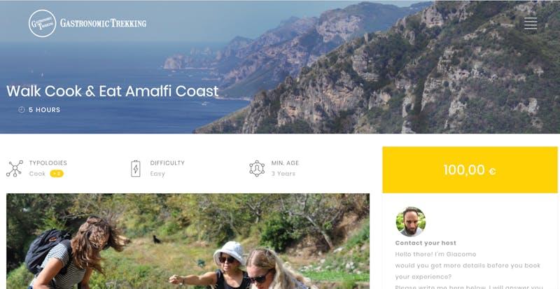 Walk, Cook, and Eat Amalfi Coast
