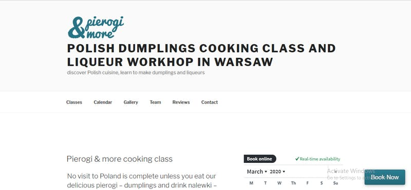 PIEROGI & MORE Cooking Class