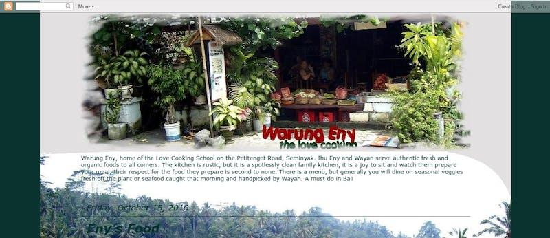Warung Eny Cooking Class