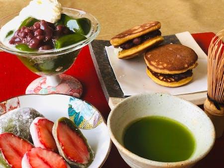 Mochi Making, Matcha Dessert and Tea Ceremony