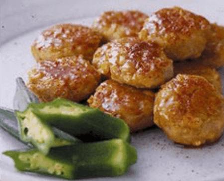 The chicken meatball Teisyoku(Yakitori)