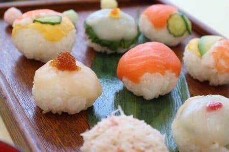 Tempura & Ball Sushi Cooking Class!