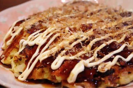 My soul food, OKONOMIYAKI