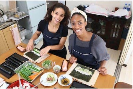 Vegetarian Sushi Making Class