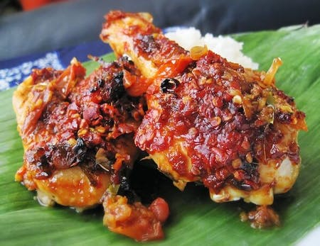 How to make Sate Lilit- Minced seafood satay