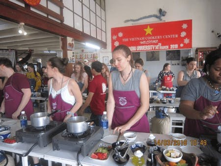 Market Visit + Hands-On Cooking Class With Vietnam Cookery Center