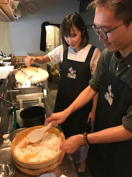 For Pro, Hands-On Japanese Cooking Class in a Restaurant by a Chef On Sunday.